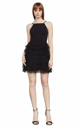 BCBGMAXAZRIA Women's Casandra Pleated Dress