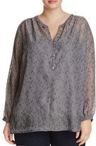 NYDJ Plus Embroidered Blouse - 100% Bloomingdale's Exclusive