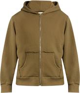 Simon Miller Alondra zip-through cotton hooded sweatshirt