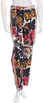 Dries Van Noten Floral Print Slim-Fit Pants w/ Tags