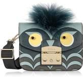 Furla Metropolis Jungle Owl Mini Crossbody Bag