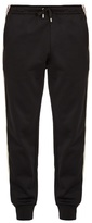 Gucci Side-stripe tapered-leg jersey track pants