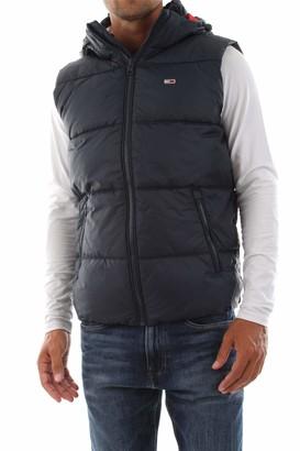 Tommy Jeans Men's TJM Essential Hood Puffa Gilet Vest