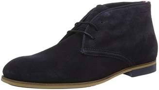 Tommy Hilfiger Men's Casual Dressy Suede Boot Oxfords, Blue (Midnight 403)