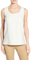 Lafayette 148 New York Cleo Sequin Linen Blouse