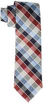 Haggar Men's Big-Tall Grid Extra Long Tie