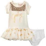 Juicy Couture Star Sweatshirt Dress & Bloomer Set (Baby Girls 12-24M)