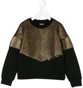 Diesel sweatshirt with metallic detail