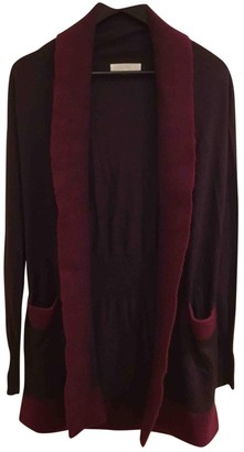 Nicole Farhi Burgundy Cashmere Top for Women