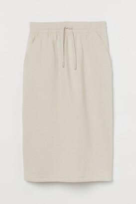 H&M Sweatshirt skirt