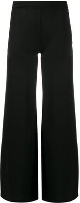 John Richmond High-Waisted Wide-Leg Trousers
