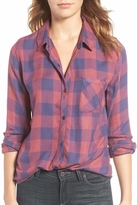Rails Hunter Plaid Shirt in Rouge/Dusk