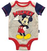Disney Mickey Mouse Bodysuit in Grey/Red