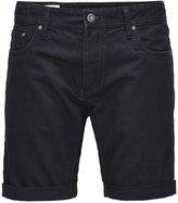 Jack & Jones Jjrick Denim Shorts Black Denim