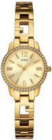 GUESS Gold-Tone Iconic Feminine Watch