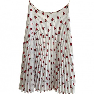Miu Miu White Skirt for Women
