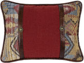 HIEND ACCENTS HiEnd Accents Ruidoso Red Oblong Decorative Pillow