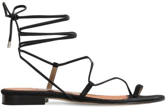 Emme Parsons 10mm Susan Leather Thong Sandals