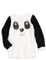 Design History Design Histroy 'Eyelash Puppy' Knit Tunic (Toddler Girls & Little Girls)