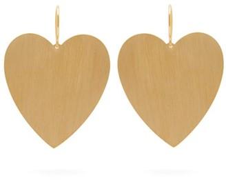 Irene Neuwirth Heart 18kt Gold Earrings - Gold