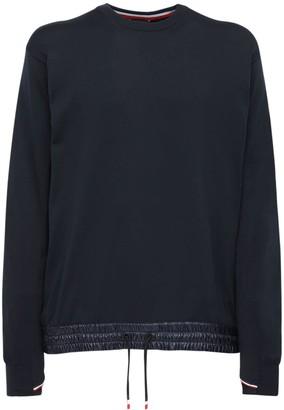 MONCLER GRENOBLE Tech Nylon Sweater