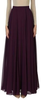 Halston Long skirt