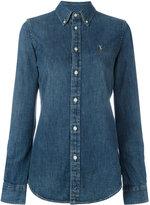 Polo Ralph Lauren slim fit denim shirt - women - Cotton - XS