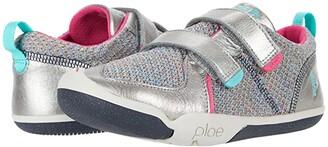 Plae Ty (Toddler/Little Kid) (Hematite) Girl's Shoes