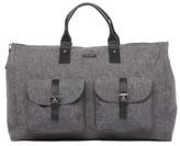 hook + ALBERT Men's Canvas Garment/duffel Bag - Grey