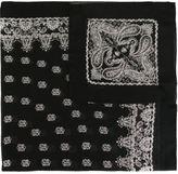 Saint Laurent paisley print scarf - men - Silk/Cashmere - One Size