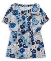 Chloé Toddler's, Little Girl's & Girl's Flowers Print Cotton Dress