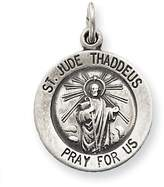 1928 Gold and Watches Sterling Silver Saint Jude Thaddeus Medal