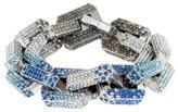 Eddie Borgo Ombré Pavé Crystal Chain Bracelet