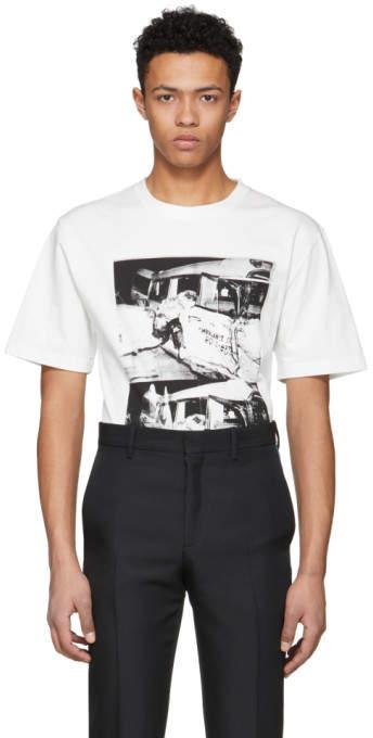 Calvin Klein Off-White Ambulance Disaster T-Shirt