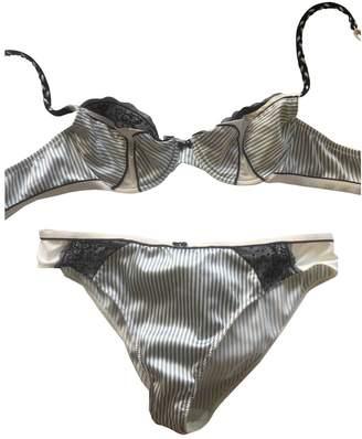 John Galliano Silver Polyamide Lingerie for Women