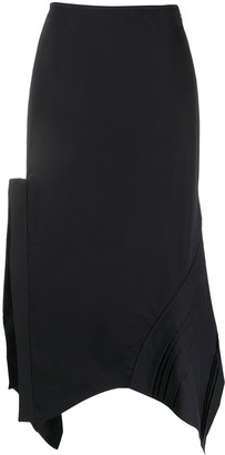 Jil Sander Side-Slit Asymmetric Skirt