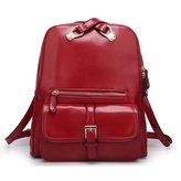 HIFISH HB125156 PU Leather Korean Style Women's Handbag,In Backpack