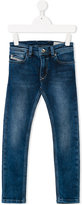 Diesel regular jeans - kids - Cotton/Polyester/Spandex/Elastane - 8 yrs