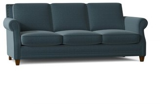 """Winston Porter Wilmslow 66"""" Rolled Arm Sofa with Reversible Cushions"""