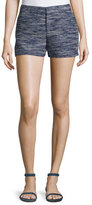 Joie Merci Tweed Shorts, Blue