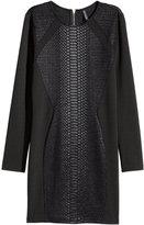 H&M Jersey Dress - Black - Ladies