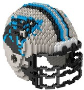 NFL Forever Collectibles 3D BRXLZ Mini Helmet Building Block Set