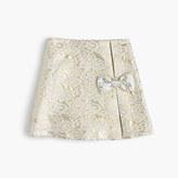 J.Crew Girls' metallic jacquard skirt