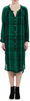 "Raquel Allegra Women's Washed Gauze ""Poet"" Dress-GREEN"