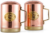 One Kings Lane Two-Tone Salt & Pepper Set - Copper