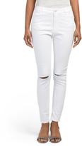Gramercy Knee Slit Skinny Jeans
