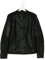 Diesel ribbed panel jacket
