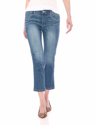 "Democracy Women's 23"" High Rise Ab Solution Crop"
