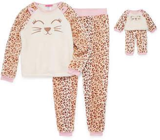 Asstd National Brand Me and My Dream Doll Girls 2-pc. Pant Pajama Set Preschool / Big Kid