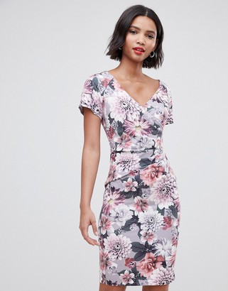 Paper Dolls all over lace short sleeve dress